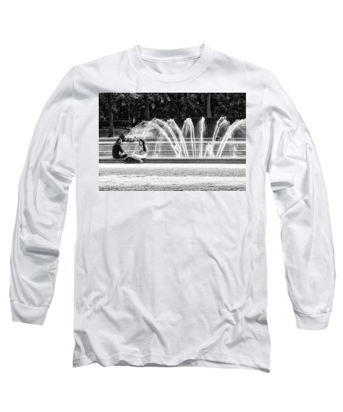 At The Fountain Long Sleeve T-Shirt