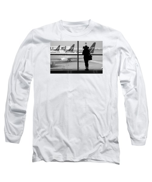 At The Gate Long Sleeve T-Shirt by Valentino Visentini