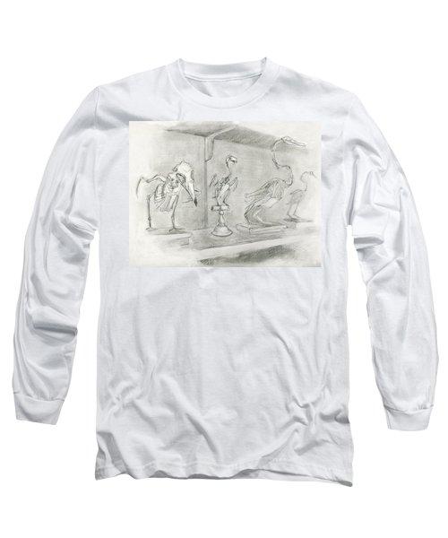 Bird Skeletons Long Sleeve T-Shirt