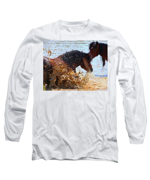 At The Watering Hole Long Sleeve T-Shirt