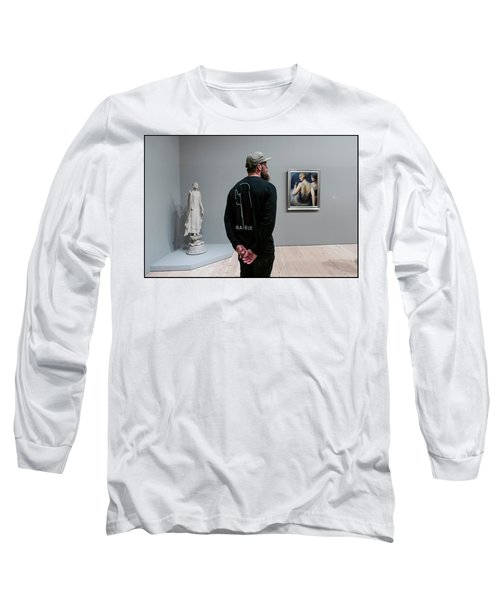 At The Whitney  Long Sleeve T-Shirt