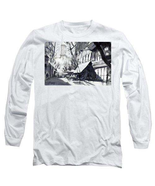 Athens Morning Walk Mono Long Sleeve T-Shirt