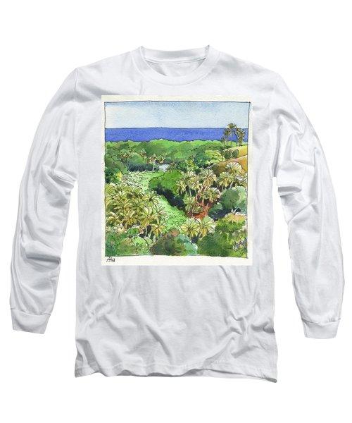 Atiu Lake View Long Sleeve T-Shirt