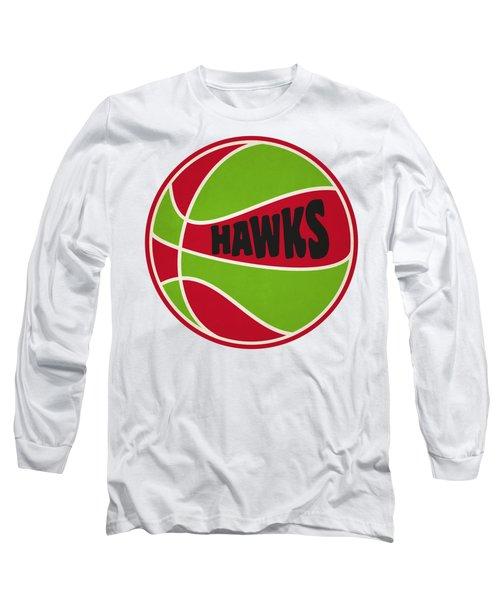 Atlanta Hawks Retro Shirt Long Sleeve T-Shirt