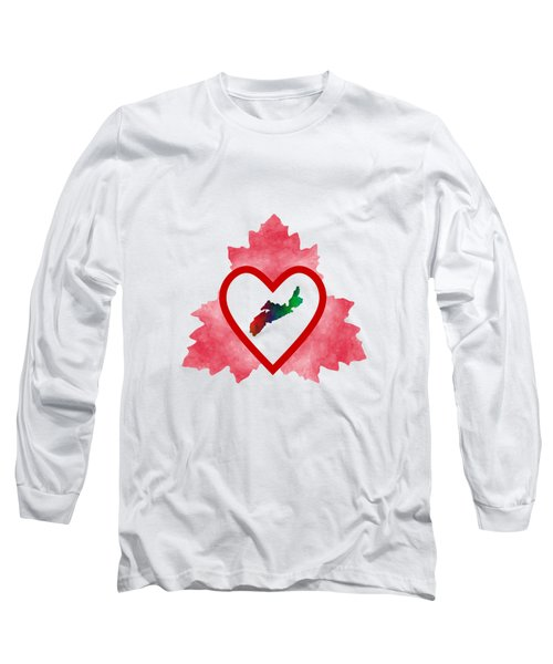 Atlantic Canada Long Sleeve T-Shirt by Kathleen Sartoris