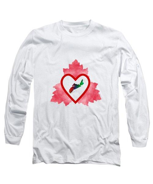 Atlantic Canada - Nova Scotia Long Sleeve T-Shirt