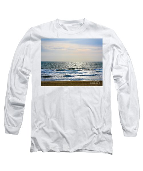 Atlantic Sunrise - Sandbridge Virginia Long Sleeve T-Shirt