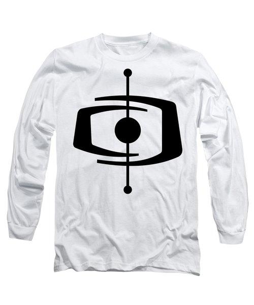 Atomic Shape 1 Transparent Long Sleeve T-Shirt