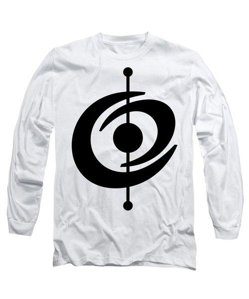 Atomic Shape 2 Transparent Long Sleeve T-Shirt
