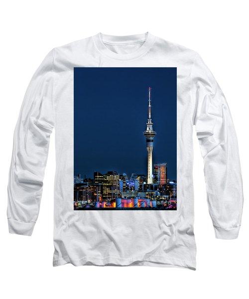 Auckland Skytower Long Sleeve T-Shirt