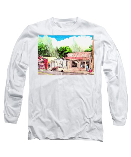 Auggies Pool Hall Long Sleeve T-Shirt