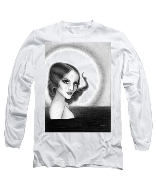 August Honey Colorless Long Sleeve T-Shirt