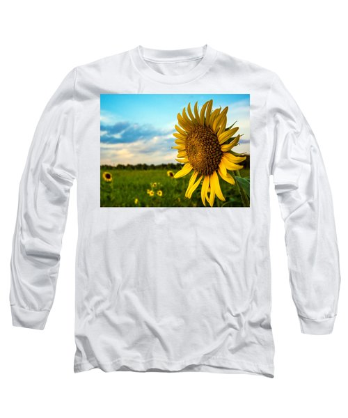 August Icon  Long Sleeve T-Shirt by John Harding