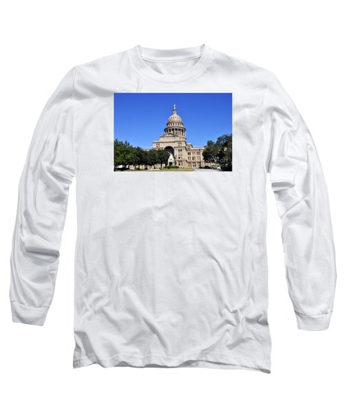 Austin State Capitol Long Sleeve T-Shirt