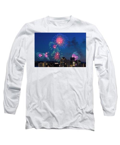Australia 1 Long Sleeve T-Shirt by Ross G Strachan