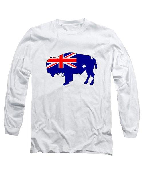 Australian Flag - Bison Long Sleeve T-Shirt
