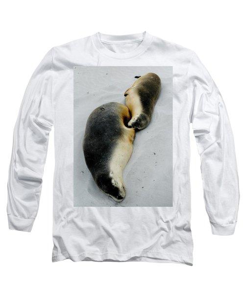 Australian Sea Lions Long Sleeve T-Shirt
