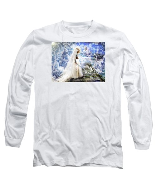 Authority Over Darkness Long Sleeve T-Shirt by Dolores Develde