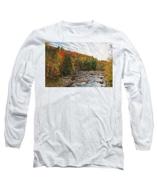 Autumn Adirondack Angling Long Sleeve T-Shirt
