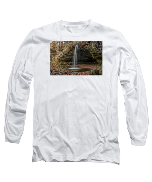Autumn At Scott Falls Long Sleeve T-Shirt