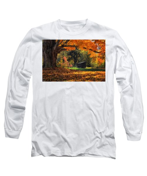 Autumn Brilliance Long Sleeve T-Shirt by Tricia Marchlik