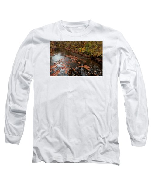 Long Sleeve T-Shirt featuring the photograph Autumn Carpet 003 by Dorin Adrian Berbier