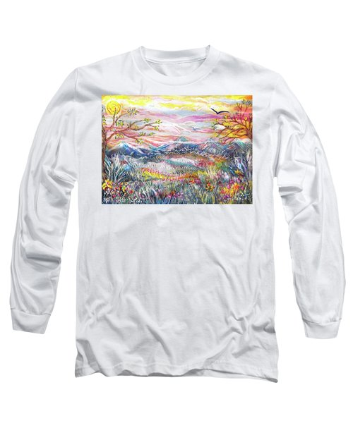 Autumn Country Mountains Long Sleeve T-Shirt