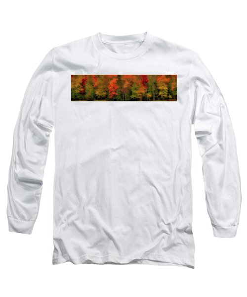 Autumn Fence Line Long Sleeve T-Shirt