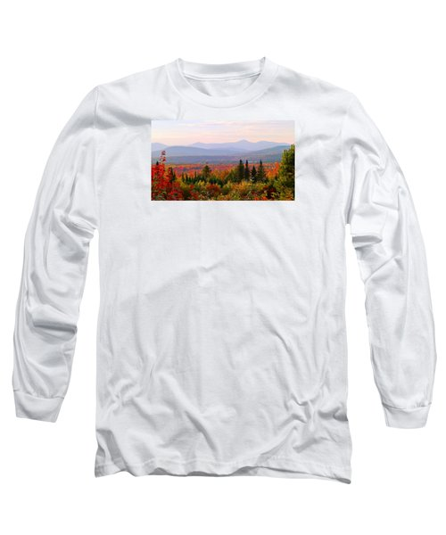 Autumn In Maine Long Sleeve T-Shirt
