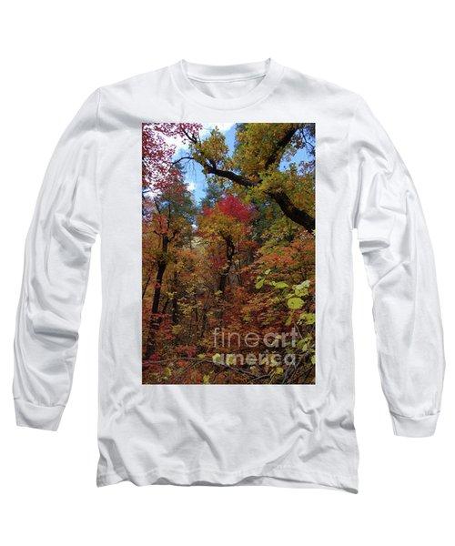 Autumn In Sedona Long Sleeve T-Shirt
