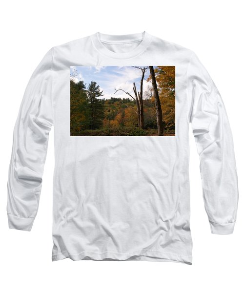 Autumn In The Hills Long Sleeve T-Shirt by Lois Lepisto