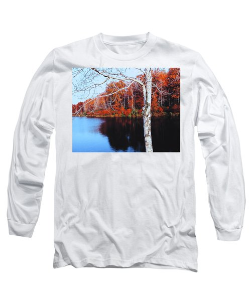 Autumn Lake Long Sleeve T-Shirt