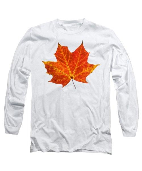 Autumn Leaf 3 Long Sleeve T-Shirt