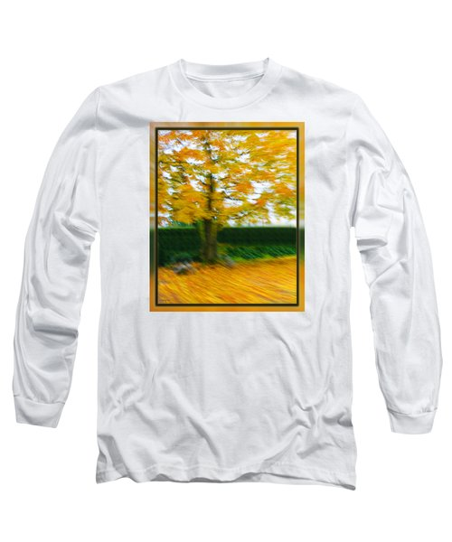 Autumn, Leaves Long Sleeve T-Shirt