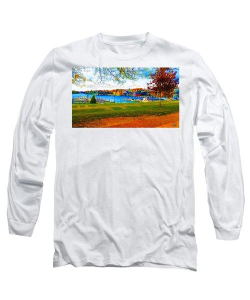 Autumn On Lake Charlevoix Long Sleeve T-Shirt