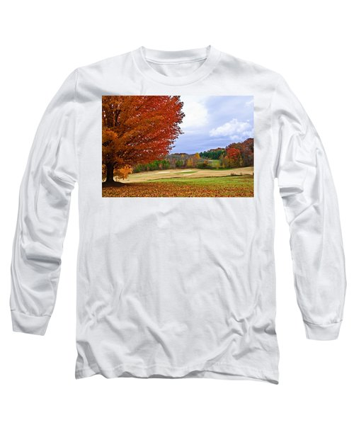 Autumn On The Golf Course Long Sleeve T-Shirt