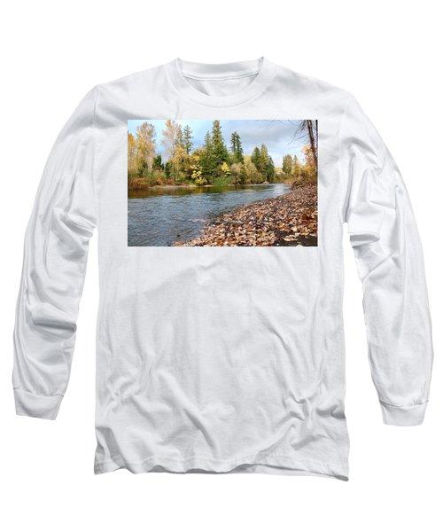 Autumn On The Molalla Long Sleeve T-Shirt