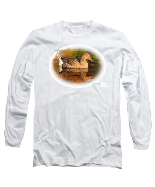 Long Sleeve T-Shirt featuring the photograph Autumn Reflection by Debbie Stahre