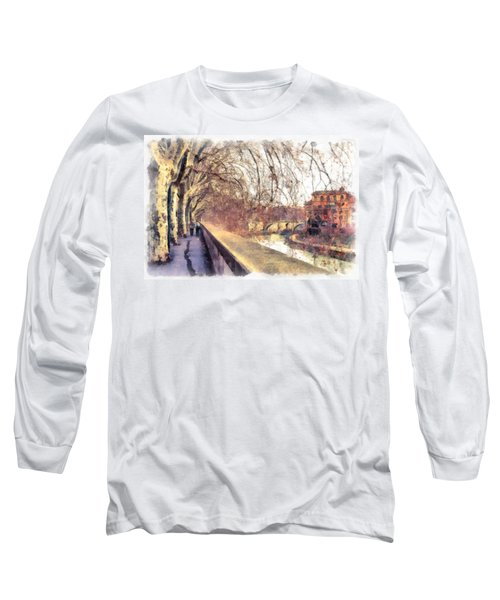Autumn Long Sleeve T-Shirt by Sergey Simanovsky