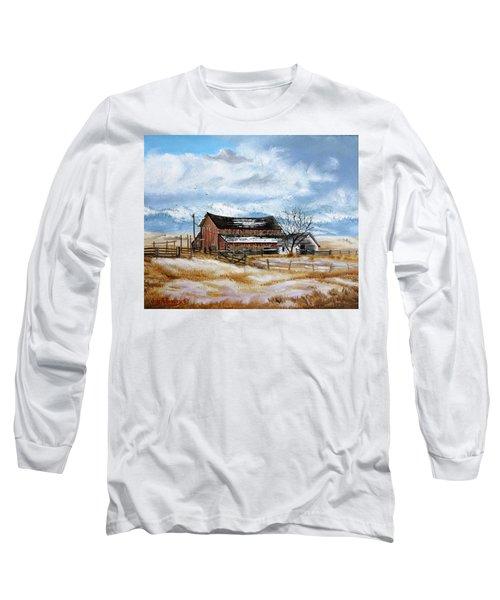 Autumn Slips Away Long Sleeve T-Shirt