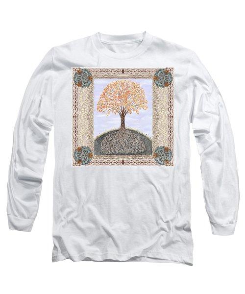 Autumn Tree Of Life Long Sleeve T-Shirt