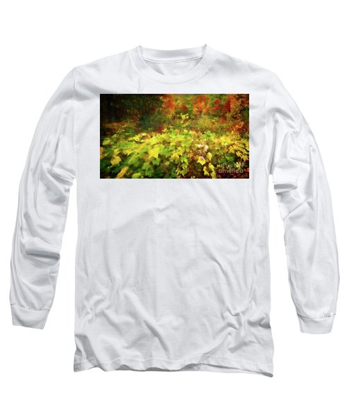 Autumn Watercolor Long Sleeve T-Shirt