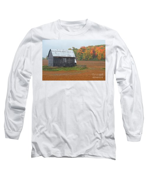 Long Sleeve T-Shirt featuring the photograph Autumnal.. by Nina Stavlund