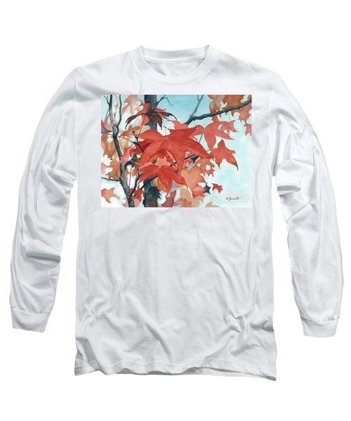 Autumn's Artistry Long Sleeve T-Shirt by Barbara Jewell