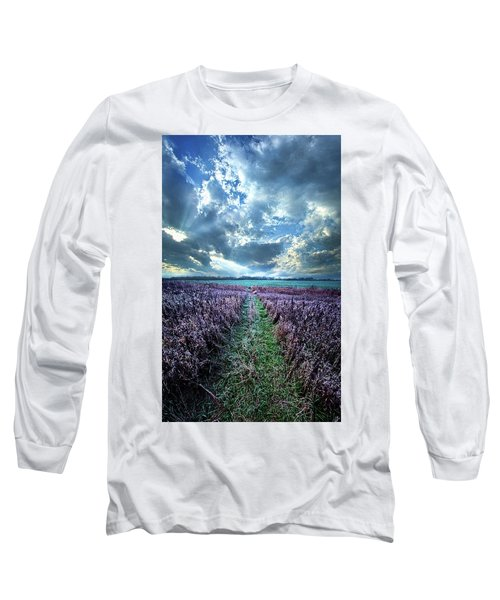 Long Sleeve T-Shirt featuring the photograph Autumn's Passage by Phil Koch
