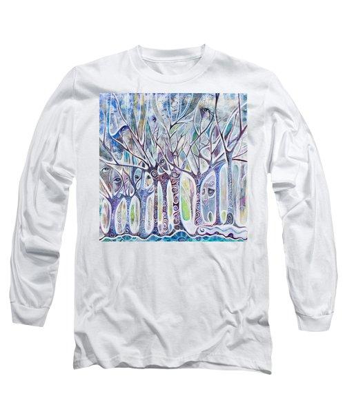 Awareness Long Sleeve T-Shirt by Leela Payne