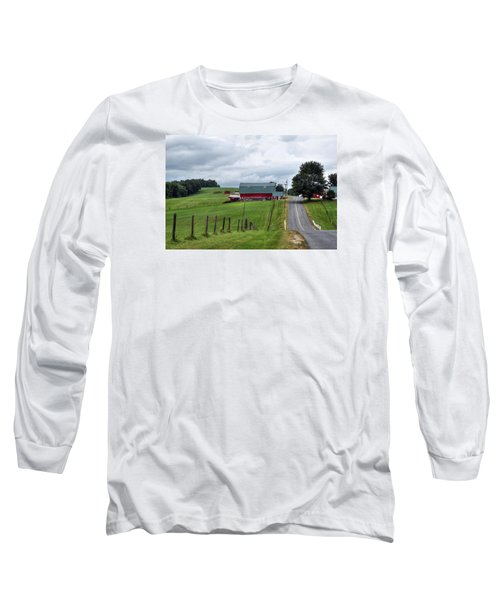 Ayrhill Farm No. 1 - The Berkshires Long Sleeve T-Shirt