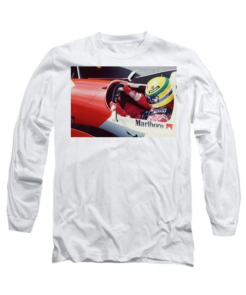 Ayrton Senna. 1993 Spanish Grand Prix Long Sleeve T-Shirt