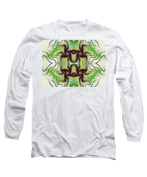 Aztec Art Design Long Sleeve T-Shirt