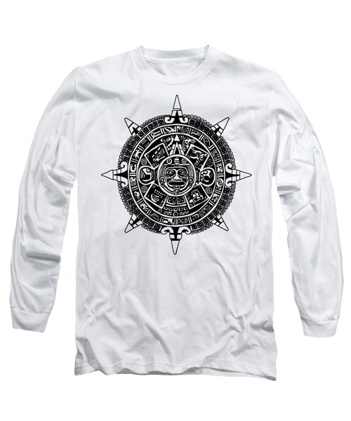 Aztecs Calendar Long Sleeve T-Shirt